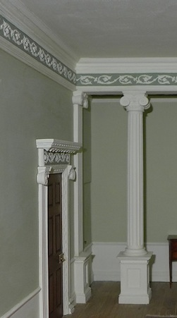 Ann Barringtons' elegant room setting uses many of my mouldings